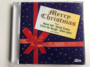 Merry Christmas from Band Aid David Essex, Chris De Burgh, Elton John and others / Karussell Audio CD 1994 / 550 416-2