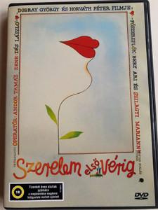 Szerelem első vérig DVD 1985 Love until first blood / Directed by Dobray György, Horváth Péter / Starring: Szilágyi Mariann, Berencsi Attila, Galamos Erzsi, Jászai Joli, Újlaki Dénes (5996357312611)