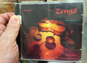 Zengő ‎– Víg Óra = A Time To Be Merry / Not On Label (Zengő Self-Released) Audio CD 1999 / BBTCD 01