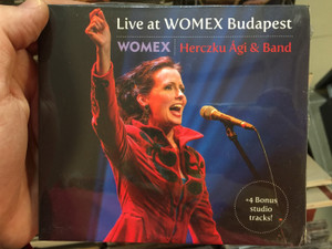 Live At WOMEX Budapest - Herczku Ági & Band / Fonó Budai Zeneház Audio CD 2016 / FA 380-2