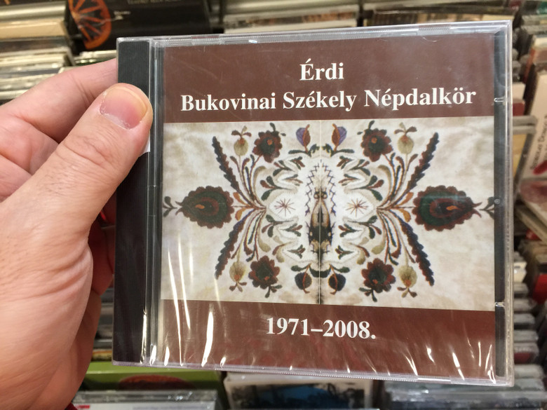 Érdi Bukovinai Székely Népdalkör ‎– 1971-2008. / Not On Label (Érdi Bukovinai Székely Népdalkör Self-released) ‎Audio CD 2008 / ÉBNK-71