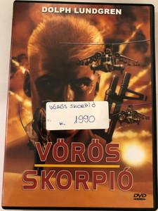 Red Scorpion DVD 1988 Vörös Skorpió / Directed by Joseph Zito / Starring: Dolph Lundgren, M. Emmet Walsh, Al White, T. P. McKenna, Carmen Argenziano, Alex Colon (5999882941677)