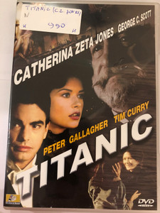 Titanic DVD 1996 Miniseries / Directed by Robert Lieberman / Starring: Peter Gallagher, George C. Scott ,Catherine Zeta-Jones, Eva Marie Saint, Tim Curry (5999545560580)