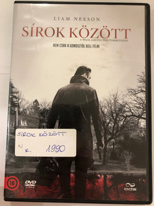 A Walk among the Tombstones DVD 2014 Sírok között / Directed by Scott Frank / Starring: Liam Neeson, Dan Stevens, David Harbour, Brian Bradley, Boyd Holbrook (5996471001231)