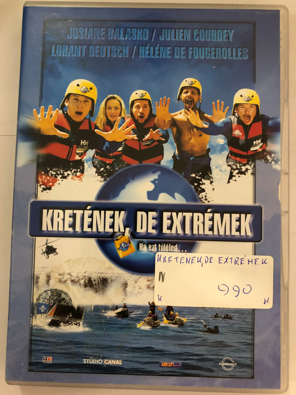 Le Raid DVD 2002 Kretének de extrémek (The Race) / Directed by Djamel Bensalah / Starring: Hélène de Fougerolles, Roschdy Zem, Atmen Kelif, Loránt Deutsch, Julien Courbey, Josiane Balasko (5998133145833)