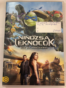 Teenage Mutant Ninja Turtles - Out of the Shadows DVD 2016 Tini Nindzsa Teknőcök - Elő az árnyékből / Directed by Dave Green / Starring: Megan Fox, Will Arnett, Laura Linney, Stephen Amell, Noel Fisher, Jeremy Howard, Pete Ploszek, Alan Ritchson, Tyler Perry (8590548616259)