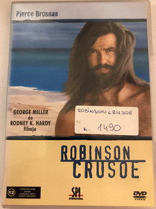 Daniel Defoe's Robinson Crusoe DVD 1997 Robinson Crusoe / Directed by George Miller, Rodney K Hardy / Starring: Pierce Brosnan, William Takaku, Polly Walker, Ian Hart (5999544155152)