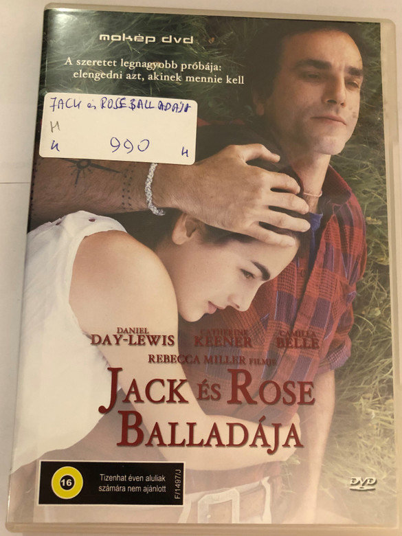 The Ballad of Jack and Rose DVD 2005 Jack és Rose balladája / Directed by Rebecca Miller / Starring: Camilla Belle, Daniel Day-Lewis, Catherine Keener, Paul Dano (5996357343288)