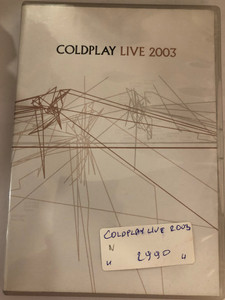 Coldplay Live DVD 2003 / Live Concert, Multi-angle feature, Tour diary documentary / Emi Records (724349080997)