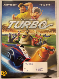 Turbo DVD 2013 Turbó / Directed by David Soren / Starring: Ryan Reynolds, Paul Giamatti, Michael Peña, Snoop Dogg (5996255738599)