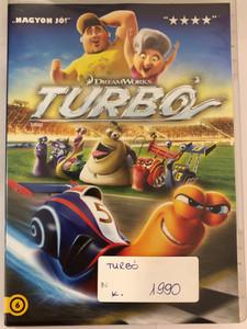 Turbo DVD 2013 Turbó / Directed by David Soren / Starring: Ryan Reynolds, Paul Giamatti, Michael Peña, Snoop Dogg (5996255738599)