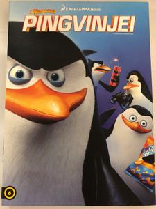 The Penguins of Madagascar DVD 2014 Madagaszkár Pingvinjei / Directed by Eric Darnell, Simon J. Smith / Starring: Tom McGrath, Chris Miller, Christopher Knights, Conrad Vernon (8590548616372)