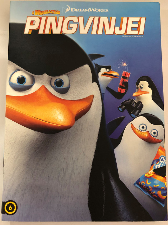 The Penguins of Madagascar DVD 2014 Madagaszkár Pingvinjei / Directed by Eric Darnell, Simon J. Smith / Starring: Tom McGrath, Chris Miller, Christopher Knights, Conrad Vernon (8590548616372)