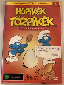 SMURFS 3 DVD 1981 Hupikék törpikék 3 - A varázstojás / Created by Peyo / Episodes: Rómeó és Törpilla, A Varázstojás, Törpilla balettcipője, Szupertörp, Az áltörtp, Törpicúrok (5999545585156)