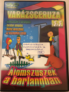 Zaczarowany ołówek - Śpioch w jaskini DVD 1970 Varázsceruza - Álomszuszék a barlangban / 4 episodes of Polish animated classic series / Written by Adam Ochocki / Enchanted Pencil (5999519415748)