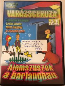 Zaczarowany ołówek - Śpioch w jaskini DVD 1970 Varázsceruza - Álomszuszék a barlangban / 4 episodes of Polish animated classic series / Written by Adam Ochocki / Enchanted Pencil (5999519415748)