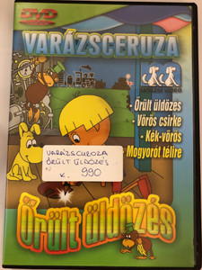 Zaczarowany ołówek - Pogoń DVD 1970 Varázsceruza - Őrült üldözés / 4 episodes of Polish animated classic series / Written by Adam Ochocki / Enchanted Pencil (5999519415724)