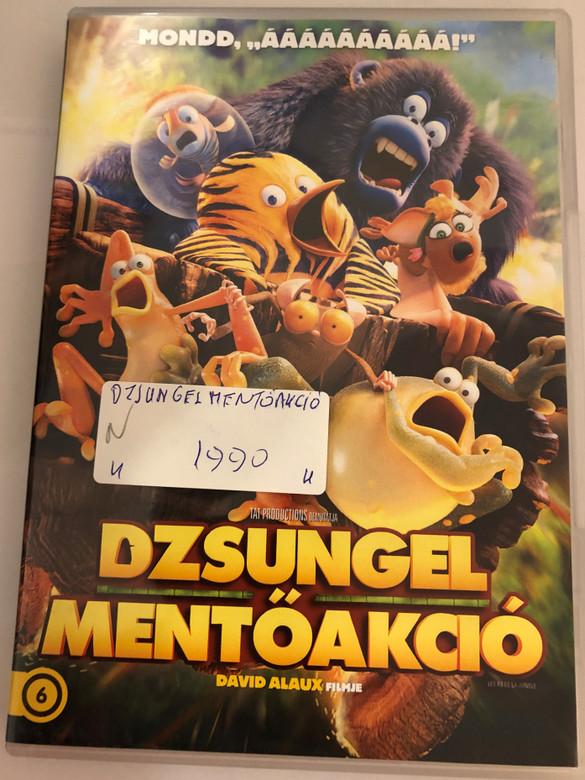 Les As de la Jungle DVD 2017 Dzsungel mentőakció (The Jungle Bunch to the Rescue) / Directed by David Alaux / Voice cast: Philippe Bozo, Michel Mella, Emmanuel Curtil, Paul Borne / AKA Les As de la Jungle à la Rescousse (8590548615788)
