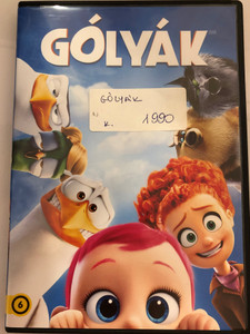 Storks DVD 2016 Gólyák / Directed by Nicholas Stoller, Doug Sweetland / Starring: Andy Samberg, Katie Crown, Kelsey Grammer, Jennifer Aniston (5996514037845)