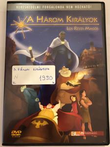 Les Reyes Magos DVD 2003 A Három Királyok (The 3 Wise Men) / Directed by Antonio Navarro / Voices: Imanol Arias, José Coronado, Juan Echanove, David Robles, Iñaki Gabilondo / Spanish Animated film (5999544250710)