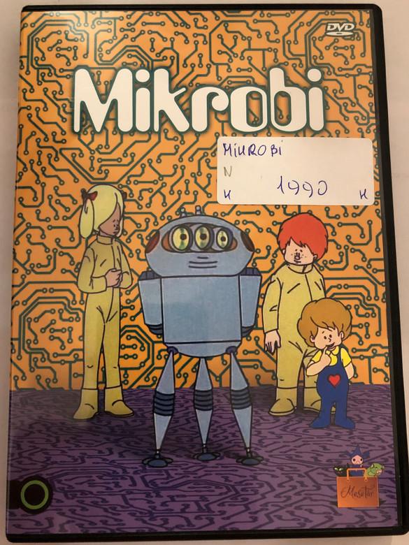 Mikrobi DVD 1975 / Directed by Mata János / Hungarian Animated series / Music: Pongrácz Zoltán, Lovas Ferenc / 13 episodes on DVD (5999542819667)