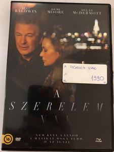 Blind DVD 2016 A Szerelem Vak / Directed by Michael Mailer / Starring: Alec Baldwin, Demi Moore, Dylan McDermott, Viva Bianca, James McCaffrey (5996471003044)