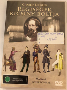 The Old Curiosity Shop DVD 1984 Régiségek kicsiny boltja / Based on Charles Dickens' novel / Directed by Warwick Gilbert / Voices of: John Benton, Jason Blackwell, Wallas Eaton, Penne Hackforth-Jones (5998168500522)