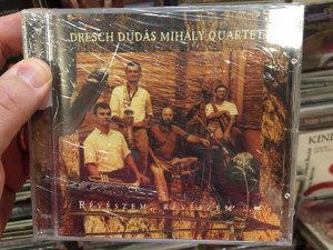 Dresch Dudás Mihály Quartett – Révészem, Révészem... = Ferryman, Ferryman... / Fonó Records Audio CD 1999 / FA-037-2
