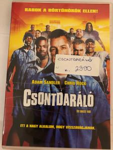 The Longest Yard DVD 2005 Csontdaráló / Directed by Peter Segal / Starring: Adam Sandler, Chris Rock, James Cromwell, Nelly, William Fichtner, Burt Reynolds (5996255734867)