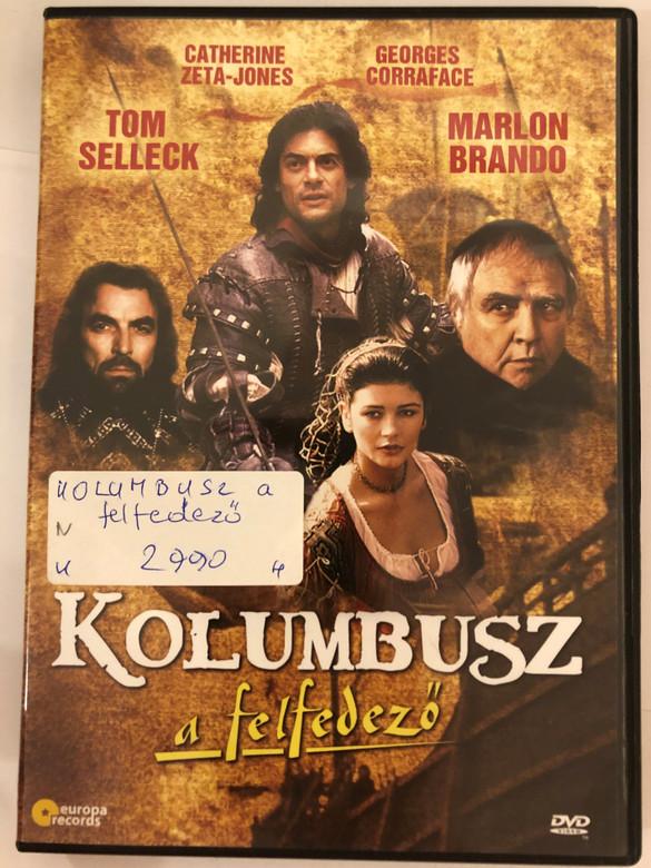 Christopher Columbus: The Discovery DVD 1992 Kolumbusz a felfedező / Directed by John Glen / Starring: Tom Selleck, Catherine Zeta-Jones, Georges Corraface, Marlon Brando (5999883108253)