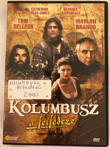 Christopher Columbus: The Discovery DVD 1992 Kolumbusz a felfedező / Directed by John Glen / Starring: Tom Selleck, Catherine Zeta-Jones, Georges Corraface, Marlon Brando (5999883108253)