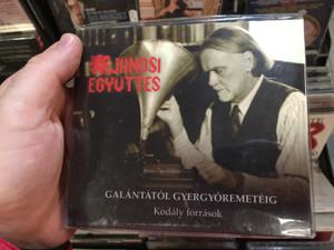 Janosi Egyuttes - Galantatol Gyergyoremeteig / Kodaly forrasok / Magyar Kultura Kiado Audio CD