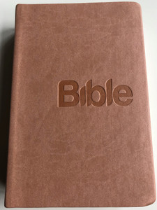 Czech language Bible / 21st Century translation / Skin tone Imitation Leather Cover / Bible, překlad 21. století / Bible21 (9788087282373)