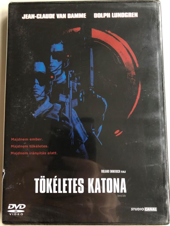 Universal Soldier DVD 1992 Tökéletes Katona / Directed by Roland Emmerich / Starring: Jean-Claude van Damme, Dolph Lundgren, Ally Walker, Ed O'Ross, Jerry Orbach (5996051090112)