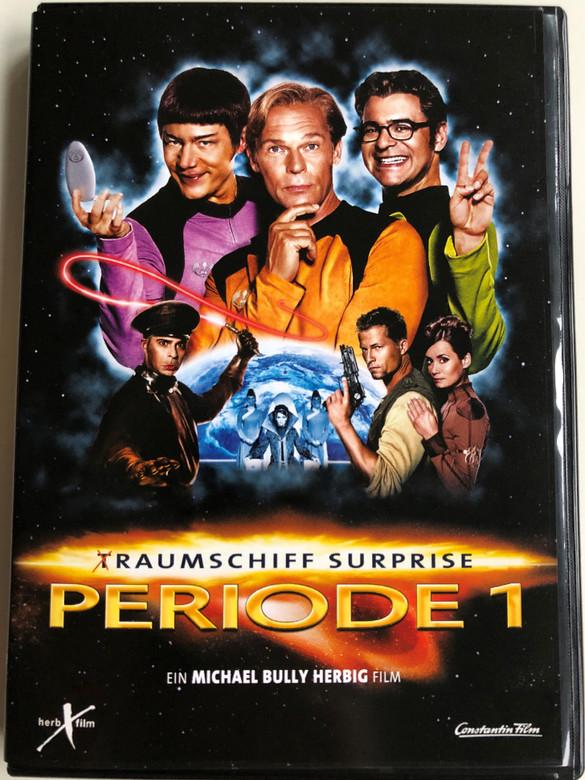 T-Raumschiff Surprise - Periode 1 DVD 2004 / Directed by Michael Bully Herbig / Starring: Michael Herbig, Rick Kavanian, Christian Tramitz, Anja Kling / 2 DVD Edition (828766179996)