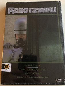Robocop TV series DVD 1994 Robotzsaru / 4 Episodes / Created by Michael Miner & Edward Neumeier / Starring: Richard Eden, Yvette Nipar / Directors: Timothy Bond, Alan J. Levi, Paul Lynch, Michael Vejar (5999882941325)