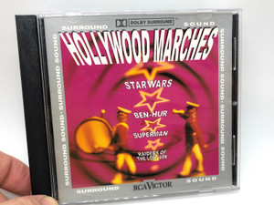 Hollywood Marches / Star Wars, Ben - Hur, Superman, Raiders Of The Lost Ark / Surround Sound / RCA Victor Audio CD 1993 / 09026-61539-2