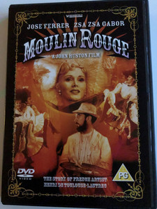 Moulin Rouge DVD 1952 / Directed by John Huston / Starring: Jose Ferrer, Gábor Zsa Zsa, Suzanne Flon, Katherine Kath (5018755503016)