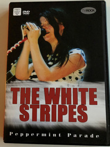 The White Stripes ‎– Peppermint Parade DVD 2008 / Filmed live in the UK June 25. 2005 / TVRock / TVR0151 (807297015195)