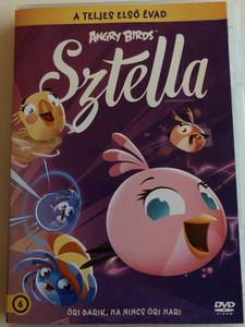 Angry Birds Stella: Season 1 DVD 2015 Angry Birds Sztella - A teljes első évad / Öri Barik, ha nincs Öri Hari (8590548612626)