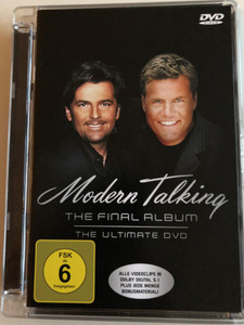 Modern Talking - The final Album - The Ultimate DVD 2003 / Alle Videoclips in Dolby Digital 5.1 / Plus Jede menge Bonusmaterial (828765666497)