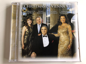 Christmas In Vienna VII / Charlotte Church, Tony Bennett, Placido Domingo, Vanessa Williams / Sony Classical ‎Audio CD 2001 / SK 89648