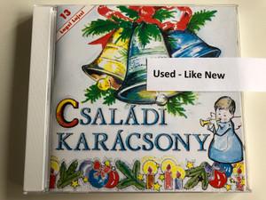Családi Karácsony / Lagzi Lajcsi – 13 / Hungaroton Audio CD 2001 / HCD 37569