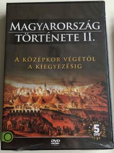 Magyarország Története II - A Középkor Végétől a kiegyezésig / History of Hungary / 5 disc DVD SET / Directed by Varga Zs. Csaba, M. Nagy Richárd / 15 episodes (5999886210021)
