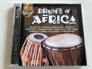 Drums Of Africa / Ark Rhythm, Tamboor Atmosphere, The Valley, Africando, Carnaval Drums, Rain's Pray, Steel Dance, Bongolo's Rumba, Fuji Colors, Flying Pygmies / LMM ‎2x Audio CD 2000 / 1702032