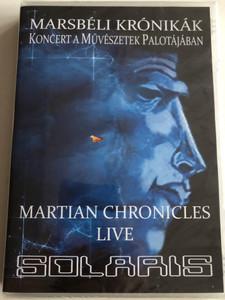 Solaris – Marsbéli Krónikák / Martian Chronicles - Live DVD 2014 / Művészetek Palotája Bartók Béla Koncertterem (59998272703307)