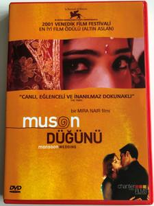 Monsoon wedding DVD 2001 Muson Düğünü (मानसून वेडिंग) / Directed by Mira Nair / Starring: Naseeruddin Shah, Lillete Dubey, Shefali Shah, Vasundhara Das (8693040300173)
