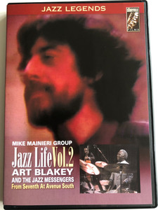 Jazz Life Vol. 2 DVD 2003 Art Blakey and the Jazz Messengers from Seventh at Avenue South / Mike Mainieri Group / Jazz Legends / Storyville Films (5708812607633)