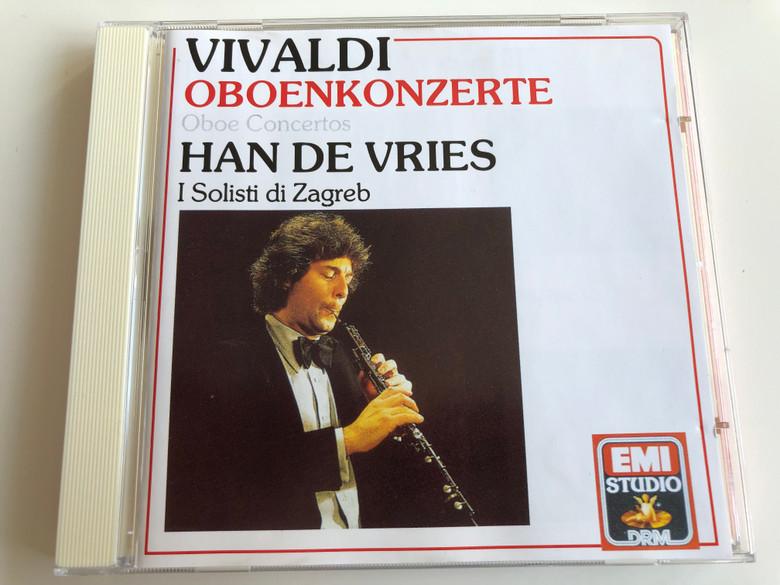 Vivaldi - Oboenkonzerte, Oboe Concertos / Han de Vries, I Solisti di Zagreb / EMI Studio Audio CD 1985 / CDM 4 89487 2