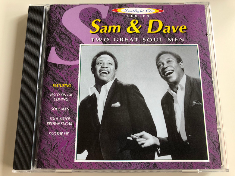 Sam & Dave – Two Great Soul Men / Featuring Hold On I'm Coming, Soul Man, Soul Sister Brown Sugar, Soothe Me / Javelin Audio CD 1996 / HADCD208